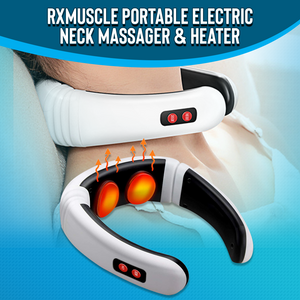 RxMuscle Portable Electric Neck Massager & Heater
