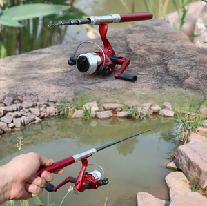 MiniFisher™ Pocket Fishing Rod