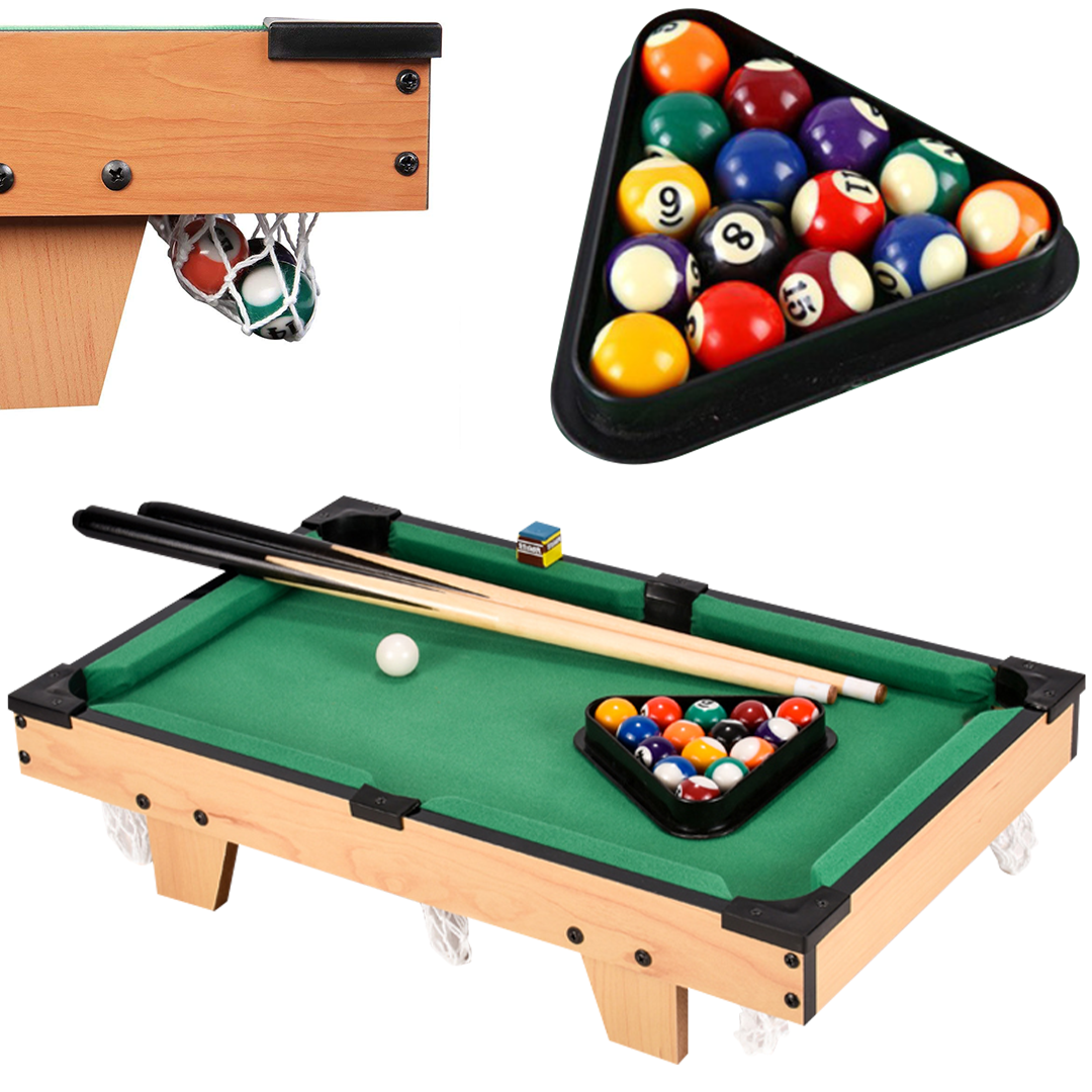 TableGames Desktop Mini Billiards Game Set