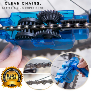 Portable Bike Chain Cleaning Scrubber
