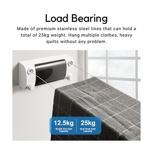 Retractable Clothes Line Dryer