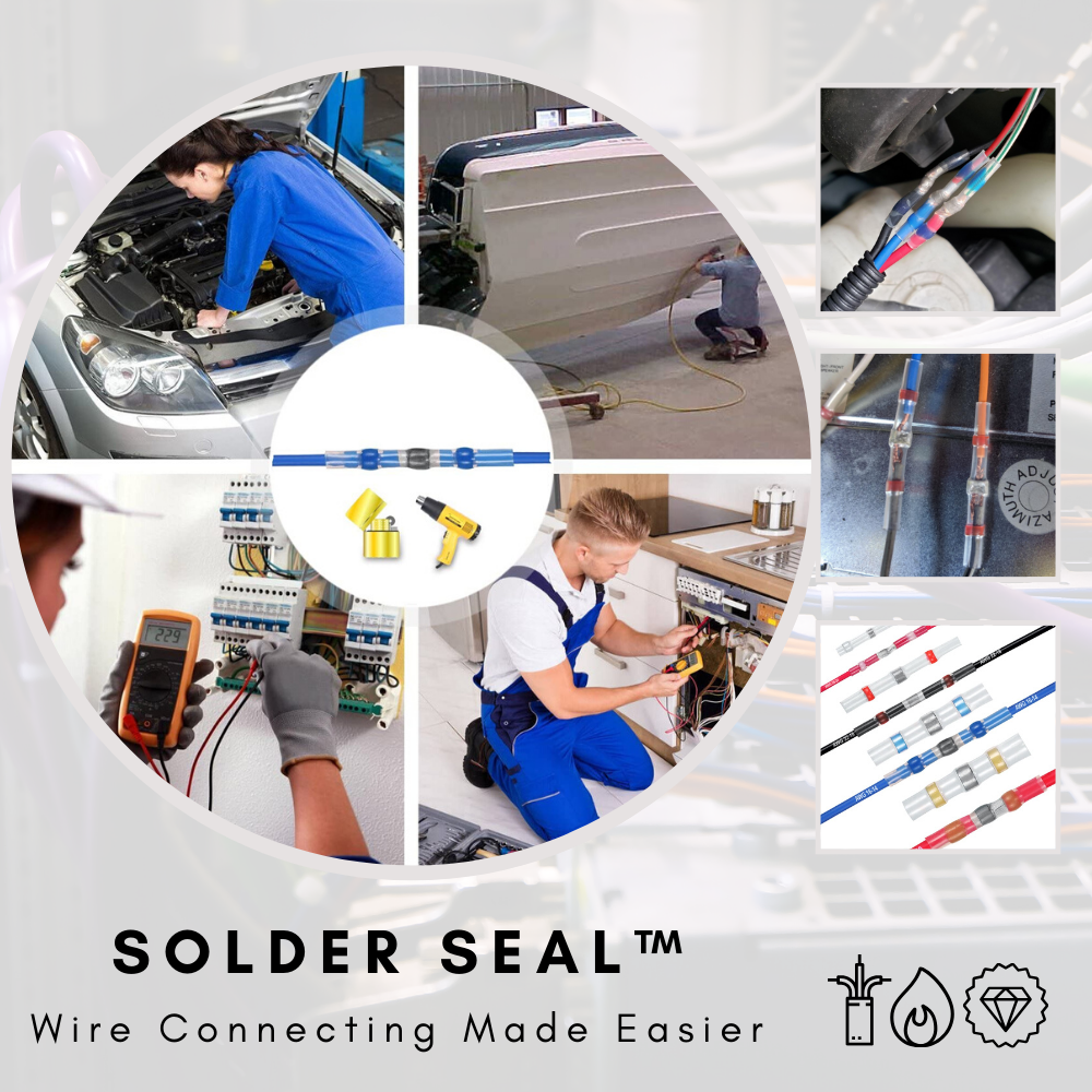 Solder Seal™ Waterproof Solder Wire Connectors