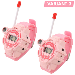 7-in-1 Walkie Talkie Watch for Kids