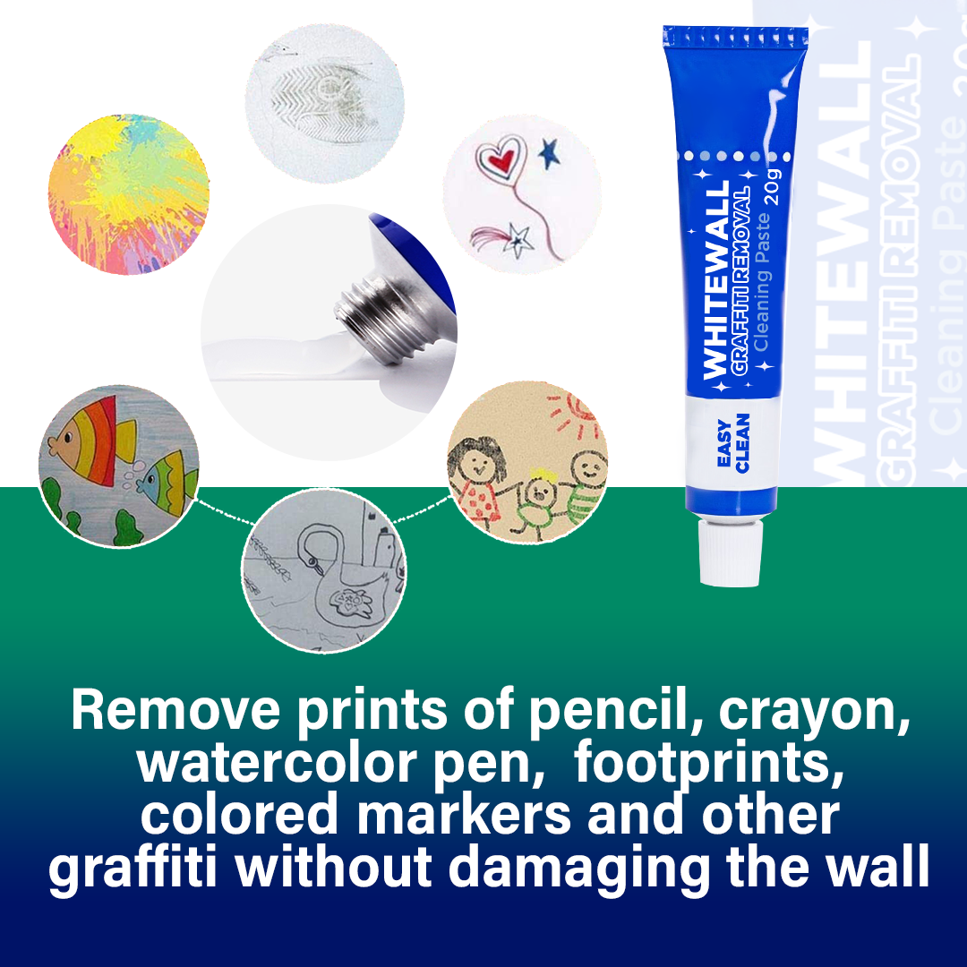 WhiteWall Graffiti Removal Cleaning Paste