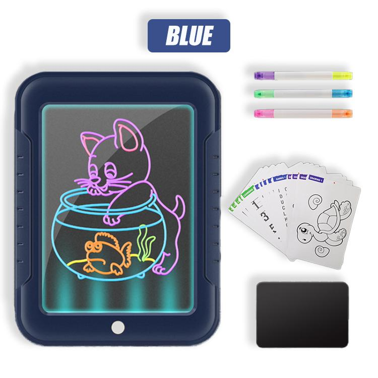 PIXXI 3D Glowing Neon Drawing Tablet