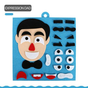 Facial Expression Educational Puzzle