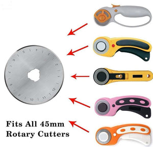 45mm Precision Rotary Blade + Rotary Cutter