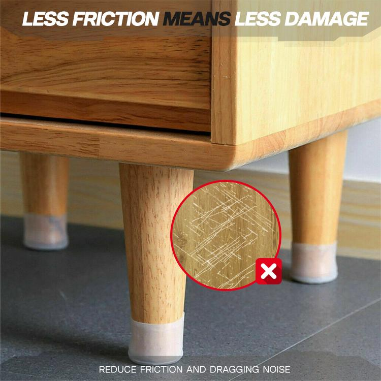 Silicon Furniture Leg Protection Caps