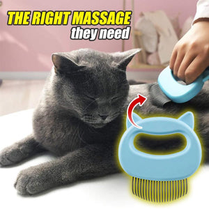 Pet Massager Grooming Shell Comb