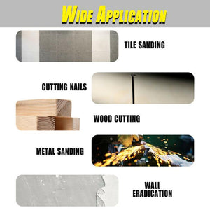 Universal Carbide Oscillating Multitool Blades