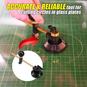 Home Cutz Adjustable Circular Glass Cutter