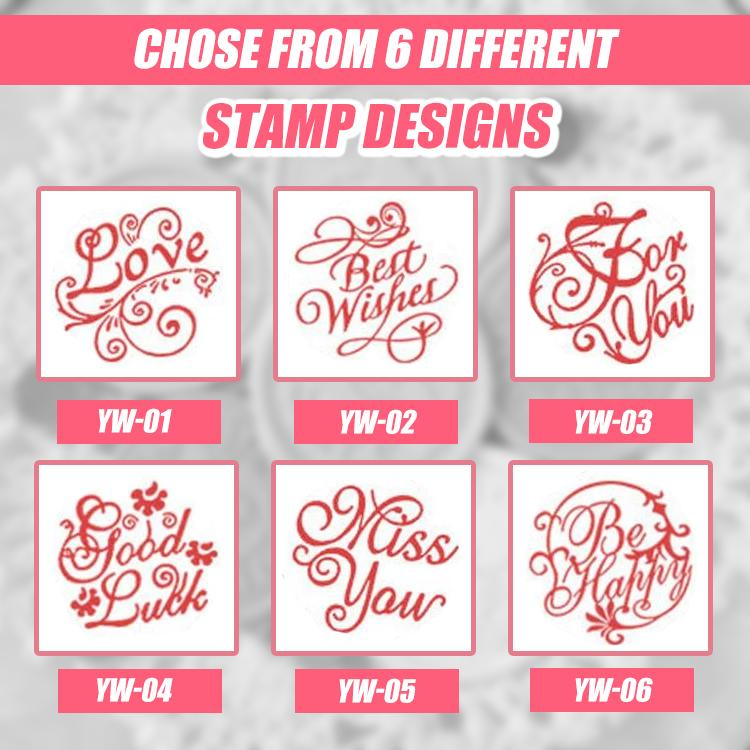 Pick-A-Card Macaron Custom Wax Seal Stamps