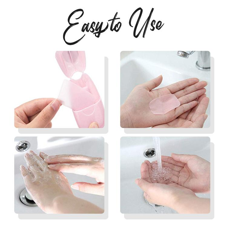 Single-Use Disinfecting Hand Soap Sheets