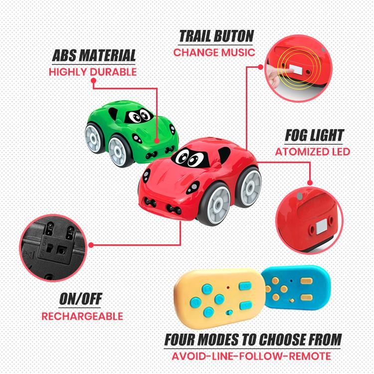 TrackSmart Interactive Toy Car