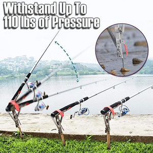 Auto Quick Catch Fishing Rod Holder