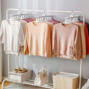 Foldable Space Saving Multi-Hanger