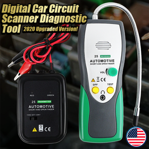 Digital Car Circuit Scanner Diagnostic Tool - 2020 Upgraded Version!