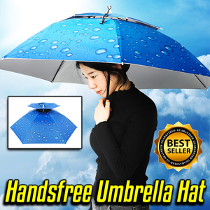 Handsfree Umbrella Hat
