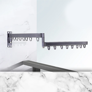 Multi-Function Expandable Heavy Duty Drying Rack - with extendable rod