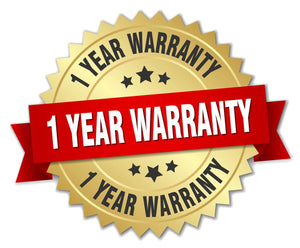 Premium One-Year Warranty (Apply on Entire Purchase!)