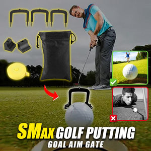 SMax Golf Putting Goal Aim Gate