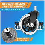 Office Chair Caster Swivel Replacements