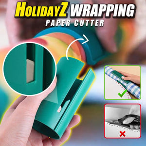 HolidayZ Wrapping Paper Cutter
