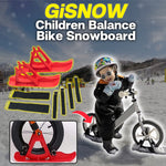 GiSnow Children Balance Bike Snowboard