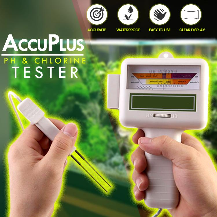 AccuPlus PH & Chlorine Tester