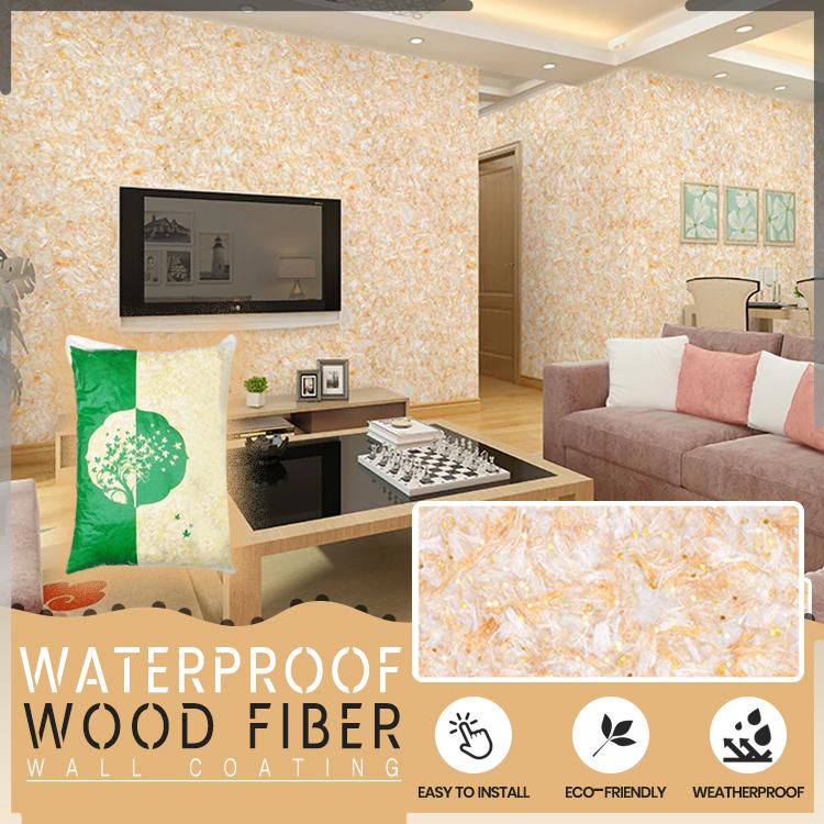 Waterproof Wood Fiber Wall Coating