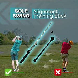 Golf Swing Alignment Training Stick