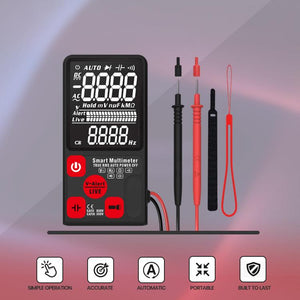 Contactless Digital Multimeter Tester
