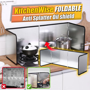 KitchenWise Foldable Anti Splatter Oil Shield