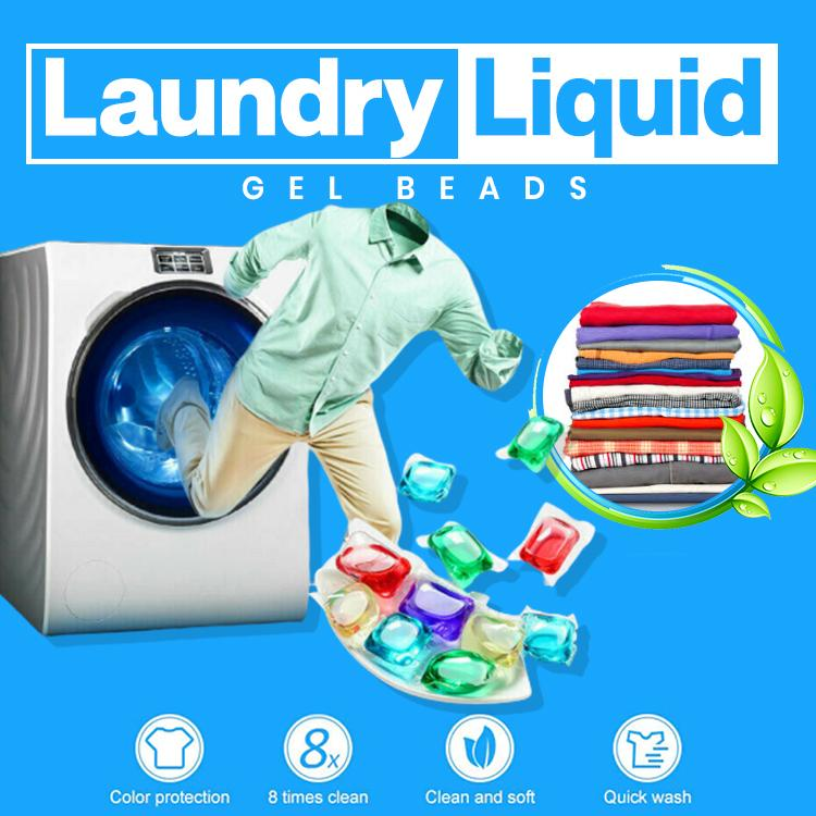 Laundry Liquid Gel Beads