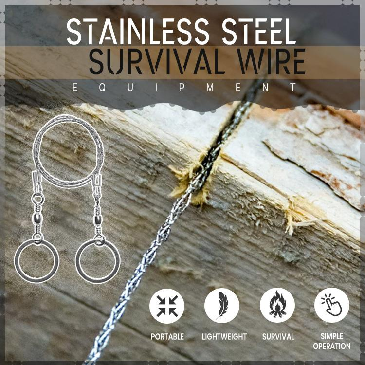 Stainless Steel Survival Wire Equipment
