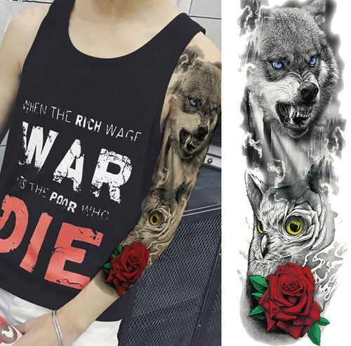 Tatuaj Temporar Full Wolf