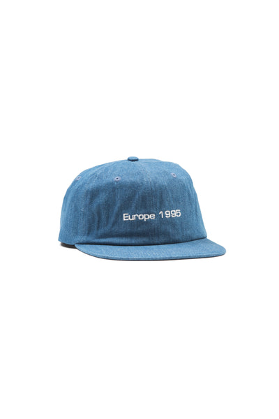 Quartersnacks Cap Europe 1995 - Dark Denim