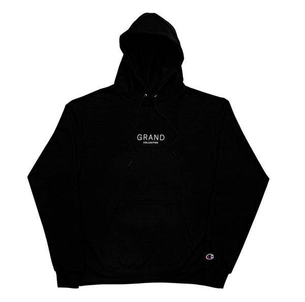 Grand Collection Core Logo Hoodie - Black