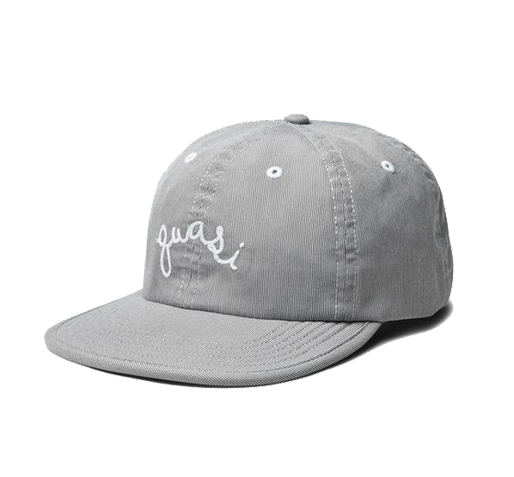 Quasi Pinner 6 Panel Hat Grey