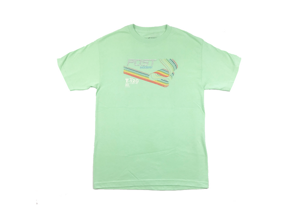 Post Modern Swoosh Tee  - Mint
