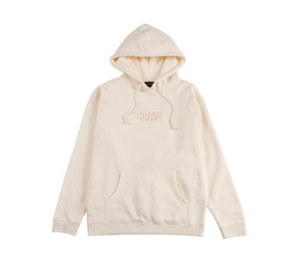 Grand Collection Tonal Hoodie - Cream