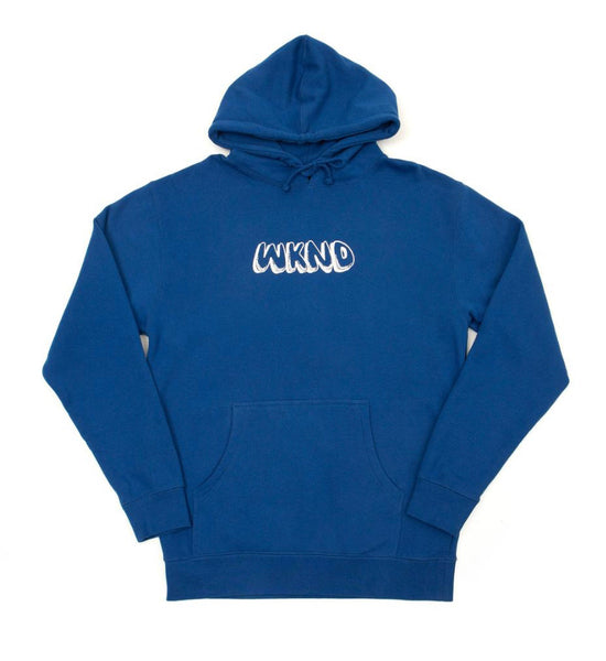 WKND Shut Up Hoodie - Royal
