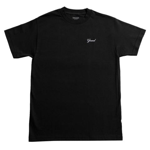 Grand Collection Script Tee - Black