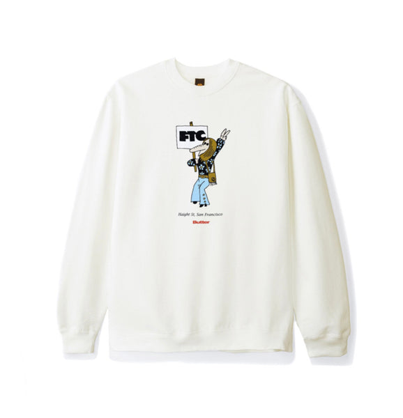 Butter X FTC Hippie Crew Neck - Bone