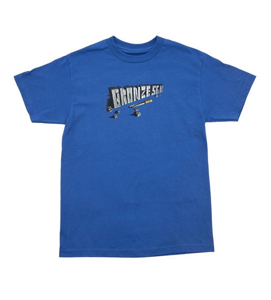 Bronze Chisel Tee - Royal Blue
