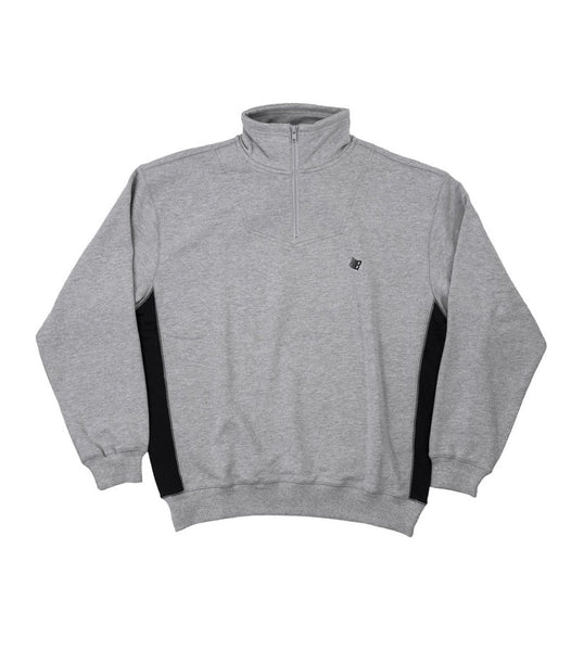 Bronze 56K Microdose 1/4 Zip - Grey/Black