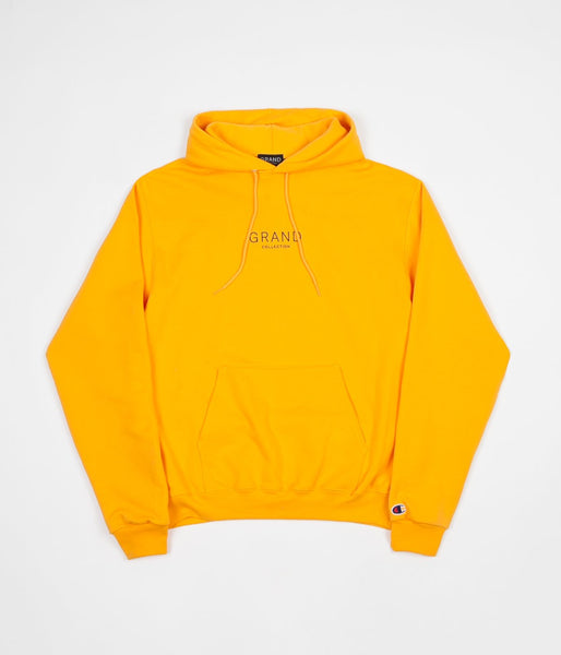 Grand Collection Core Hoodie - Gold