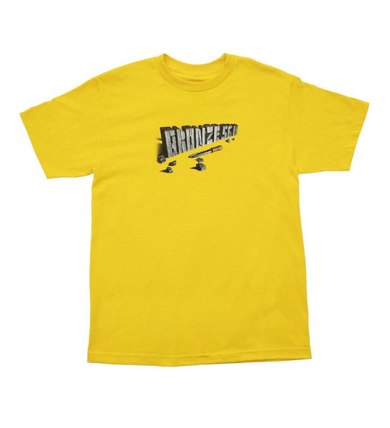 Bronze Chisel Tee - Yellow