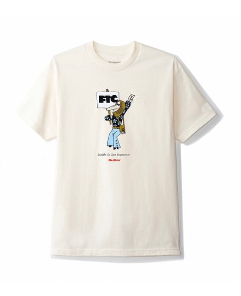 Butter X FTC Hippie Tee - Cream