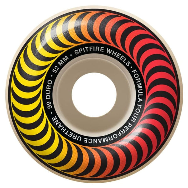 Spitfire Wheels Formula Four Classic Faders 52mm